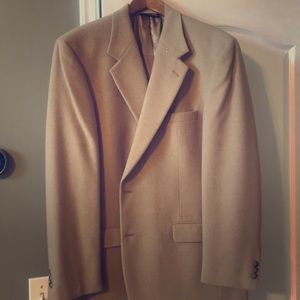 Brooks Brothers 100% camel hair sports coat